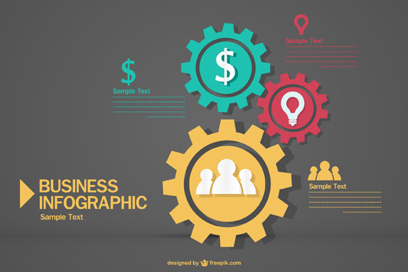 Exclusive: Free Business Infographic Vector Pack