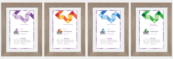 creative award certificates - Khafre