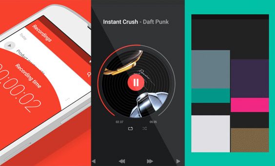 11 Material Design Concepts (GIF)
