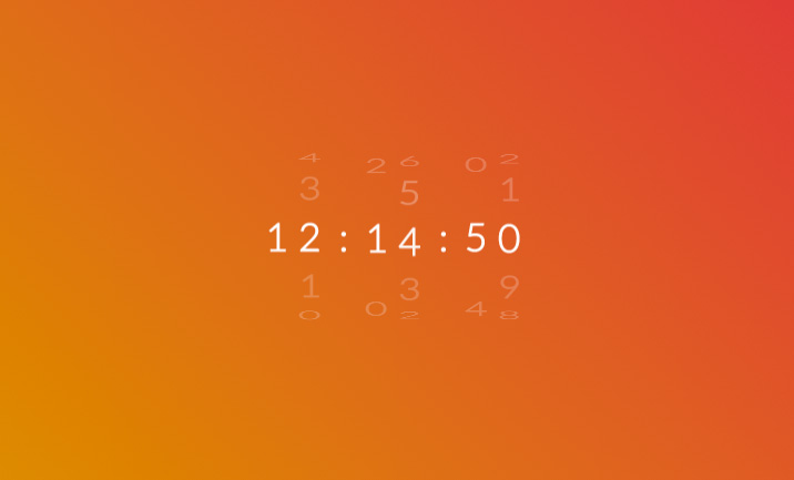 Rotate Clock (CSS Only)