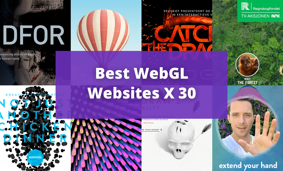 30 Best WebGL Sites For 2015