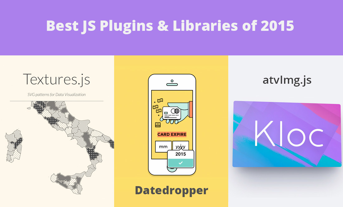 Best JS Plugins & Libraries of 2015
