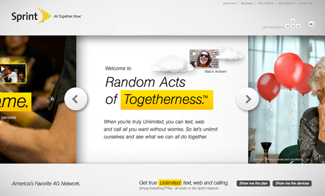 Sprint – All. Together. Now.