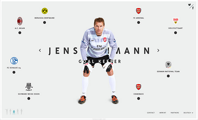 The Five Faces of Jens Lehmann