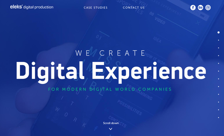 ELEKS Digital website