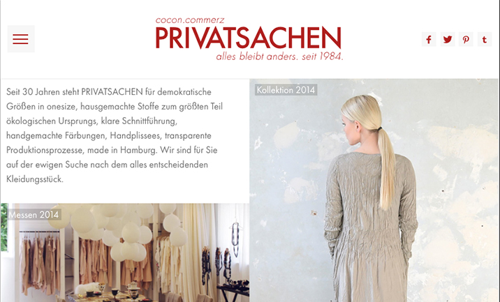 Privatsachen website