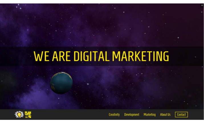 PlanMC2 Digital Agency website