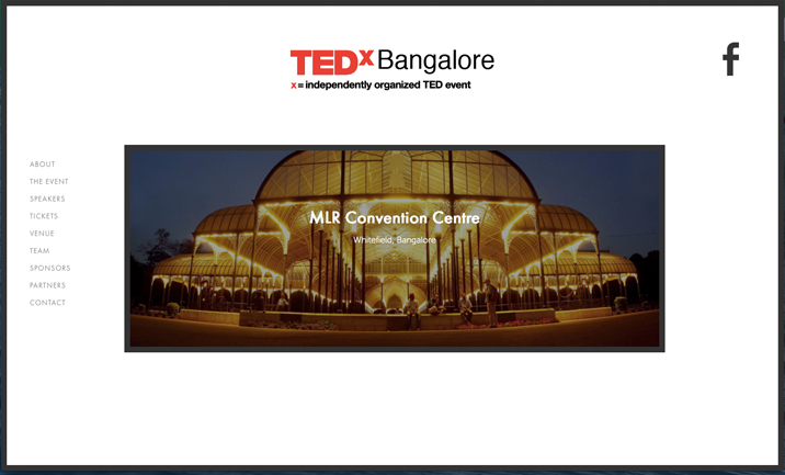 TEDxBangalore website