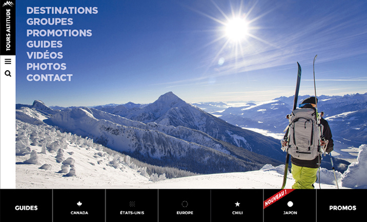 TOURS ALTITUDE website