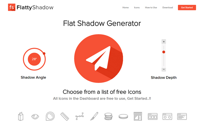 Flatty Shadow website