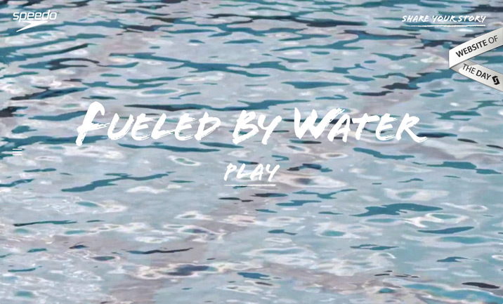 Fueled by Water website