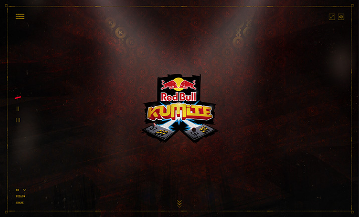 Red Bull Kumite website