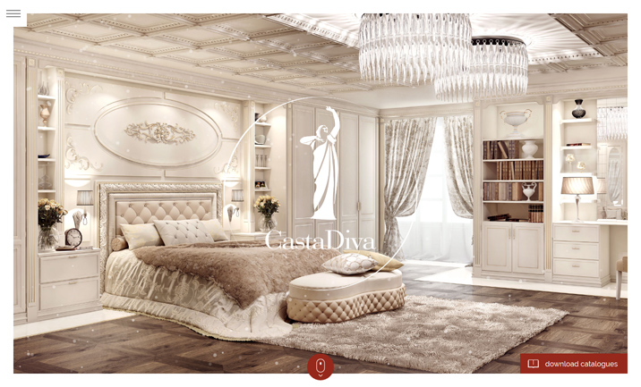 Casta Diva Interiors  website
