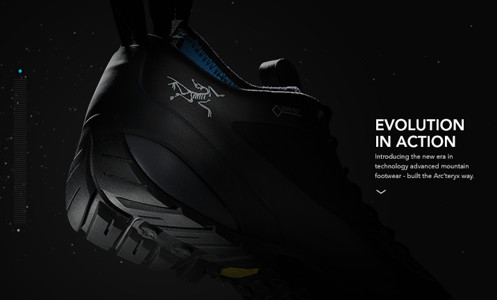 Arc'teryx Footwear website