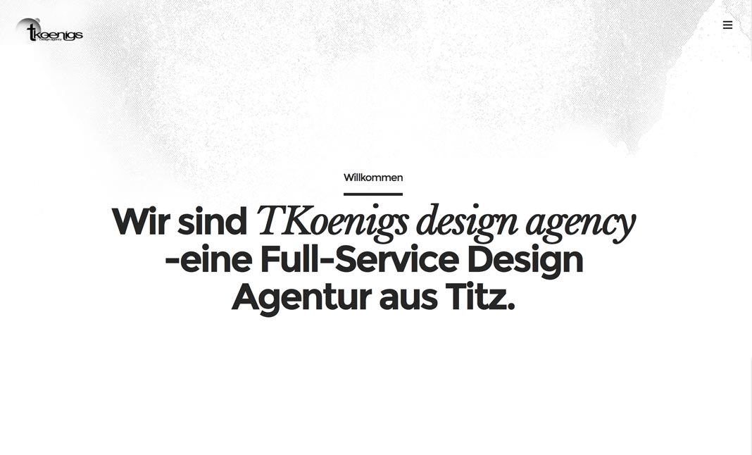 TKoenigs Design Agency website