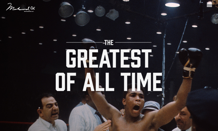 Muhammad Ali website