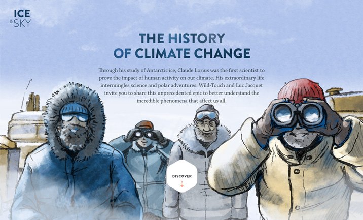 Ice and Sky : History of Climate website