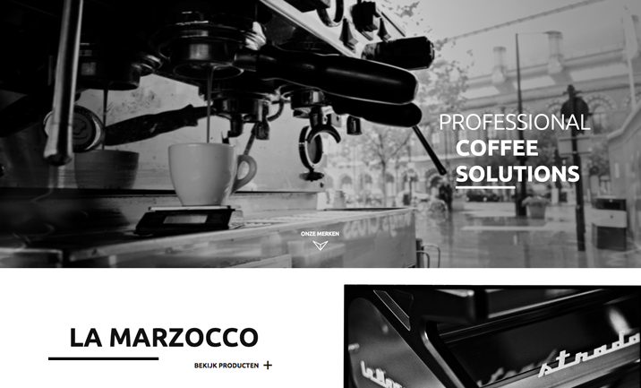 Limarc - Coffee Solutions website