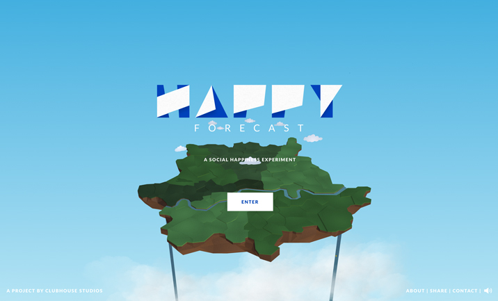 The Happy Forecast website