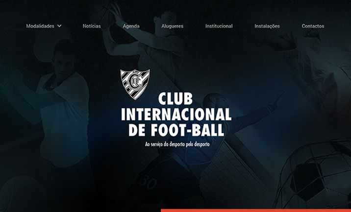 Club Internacional de Foot-Ball website
