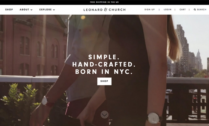 Leonard & Church website
