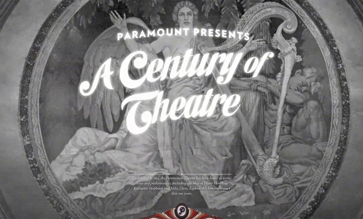 A Century Of Theatre website