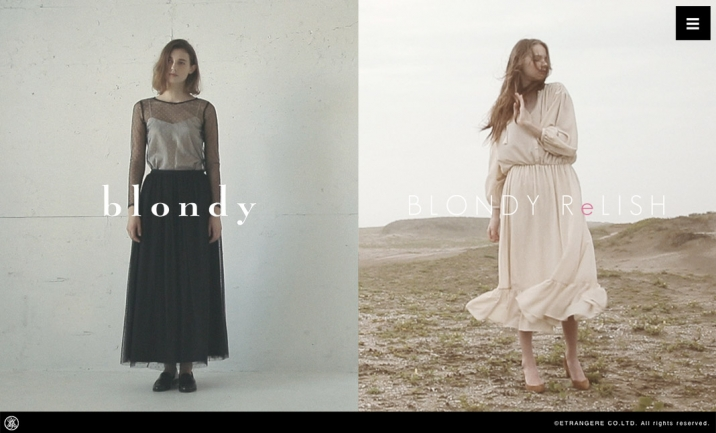 blondy / BLONDY ReLISH website