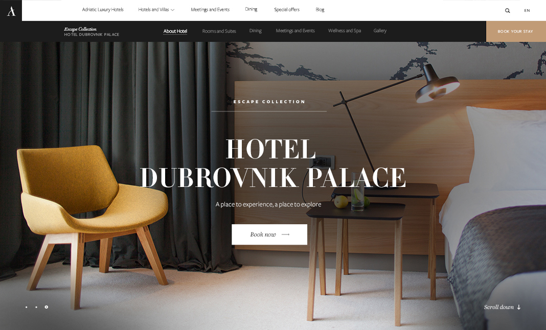 Adriatic luxury hotels designed by degordian for Luxury independent hotels
