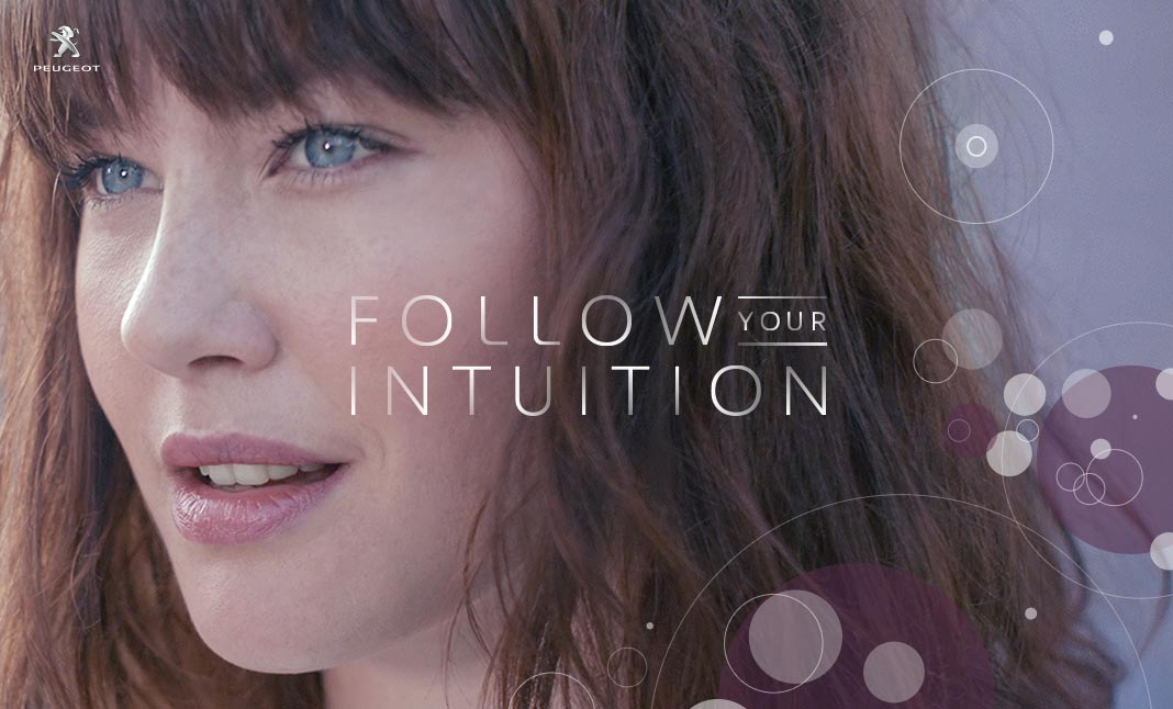 Peugeot - Follow your Intuition  website