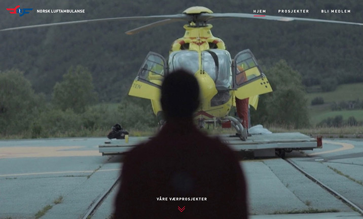 Norwegian Lifesavers website