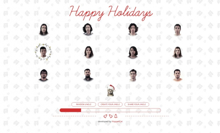 HopperCat Holidays website