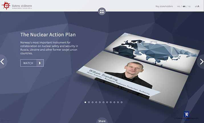 The Nuclear Action Plan website