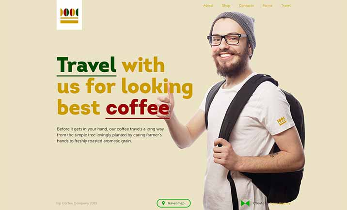 Biji Coffee Company website