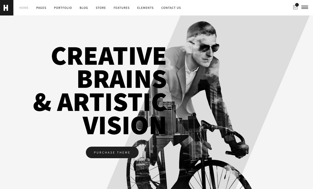 Heli - Creative Multipurpose WP website