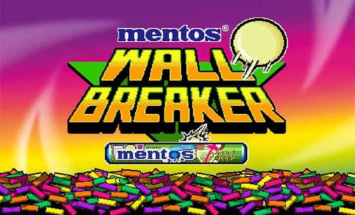 mentos WALL BREAKER website