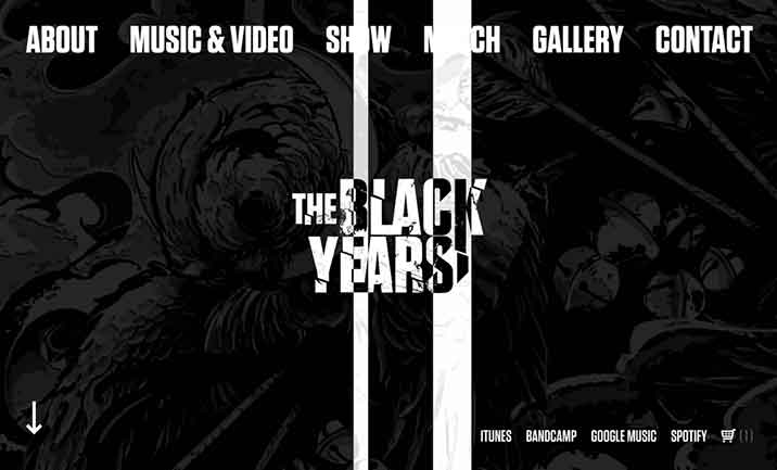 The Black Years website