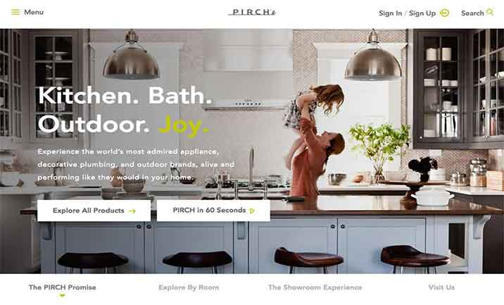Pirch website