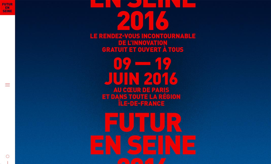 Futur en Seine website