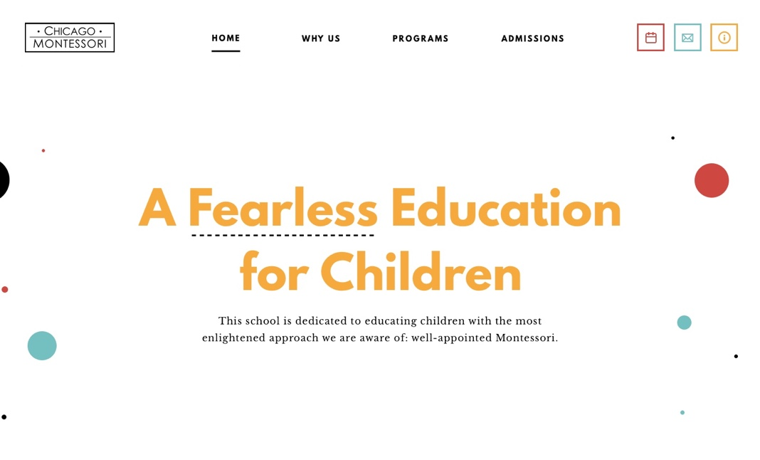 Chicago Montessori website