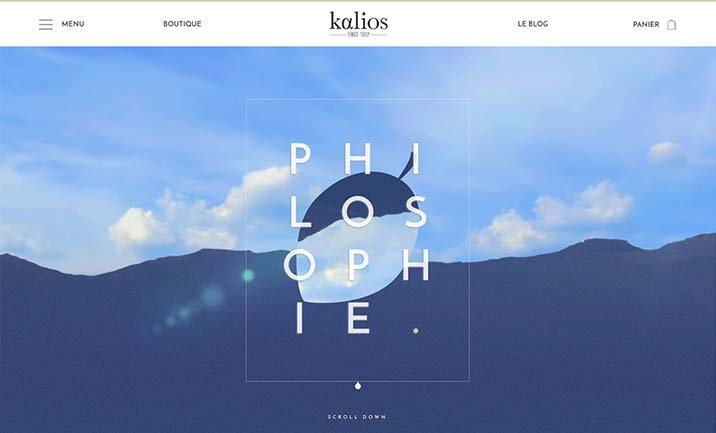 Kalios website