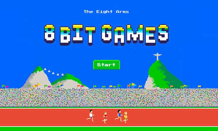 The Eight Arms 8-bit Games website
