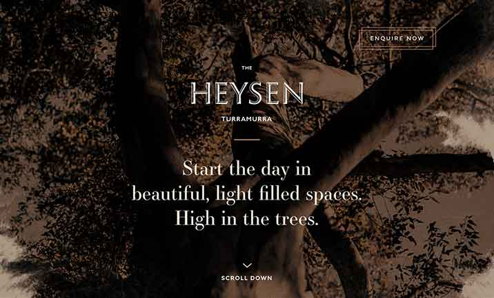 The Heysen website