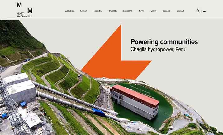 Mott MacDonald website