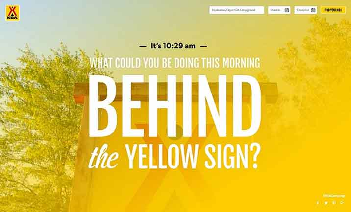 What�s Happening Now Behind the Yellow Sign? website