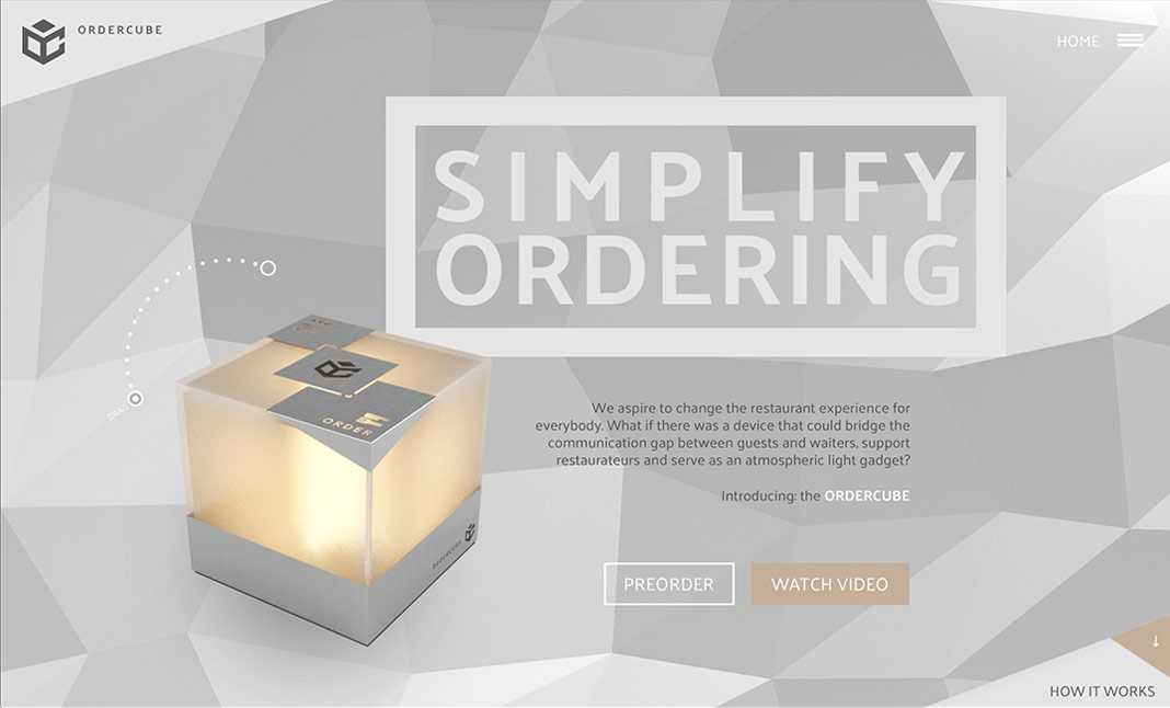 Ordercube - Simplify Ordering website