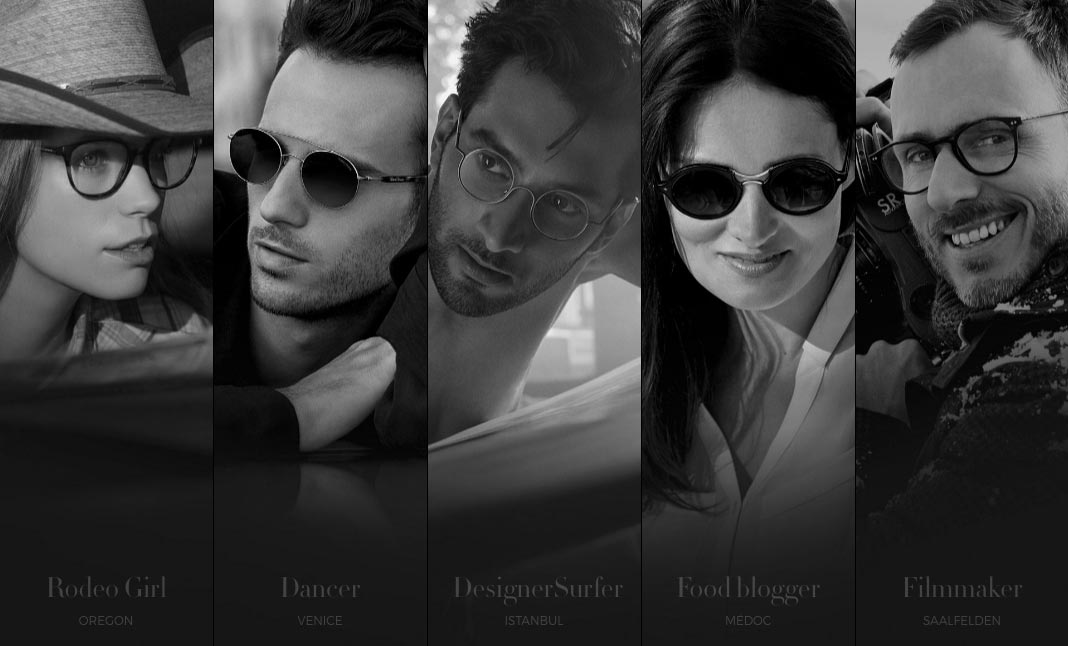Giorgio Armani - Frames of Life website