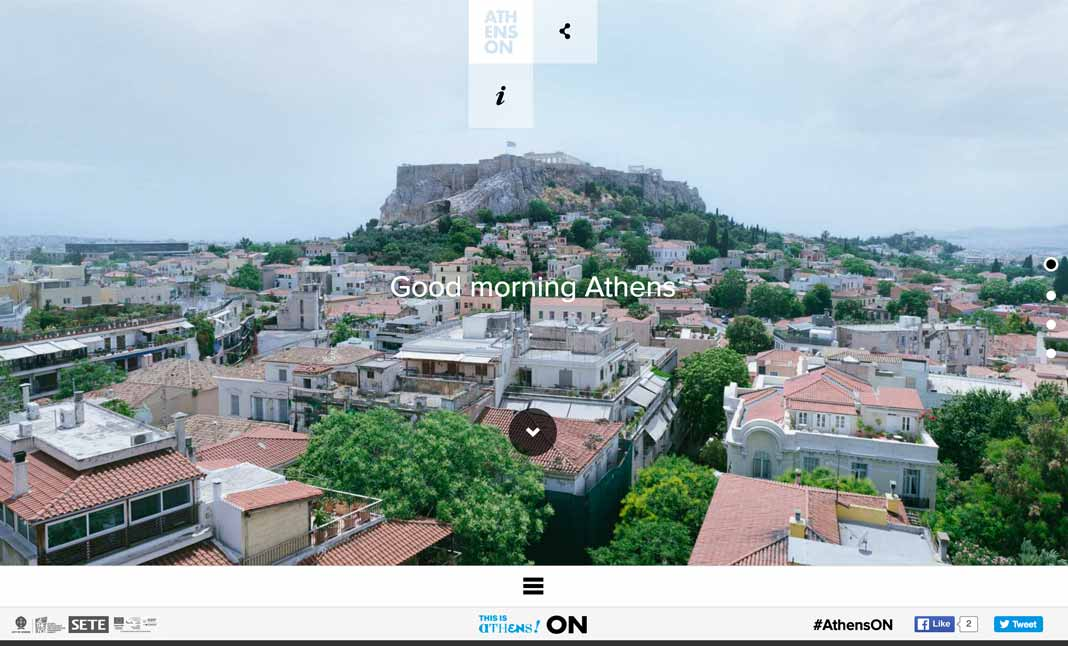 Athens ON website