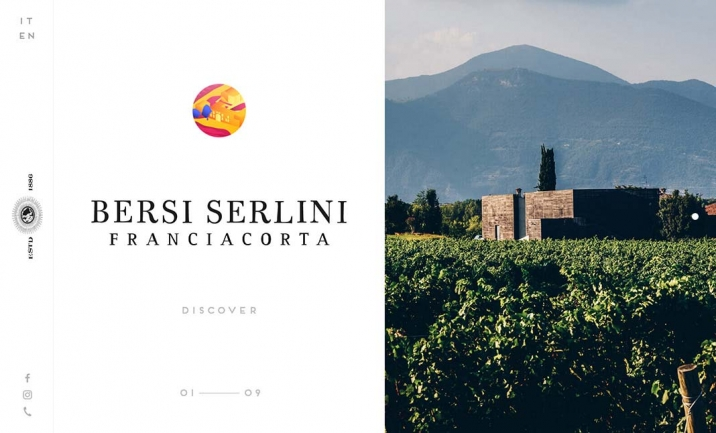 Bersi Serlini Franciacorta website