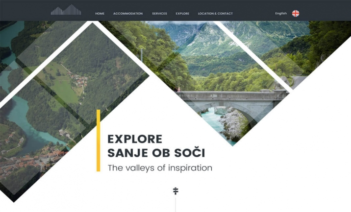 Hotel Sanje ob So�i website
