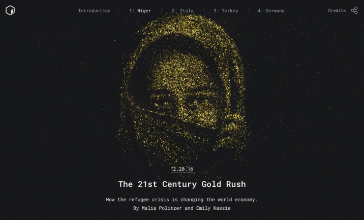 The 21st Century Gold Rush website